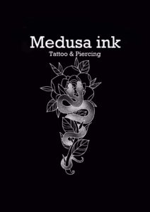 medusa ink logo - great barr tattoo studio